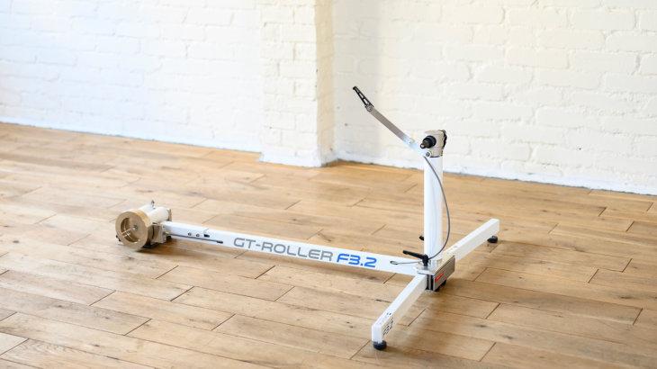 """""""動く""""ローラー台「GT-Roller F3.2」。自転車との一体感で、楽しく汗を流そう!"""